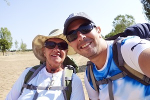 Caminoheads for sure.  Mary Margret and Sherif caught in a Sheriff selfie.