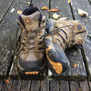 Phil's Camino boots.