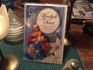 Polish Christmas Card.  Sending it off today hopefully.