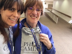 Get wearing your Phil's Camino T-shirts!