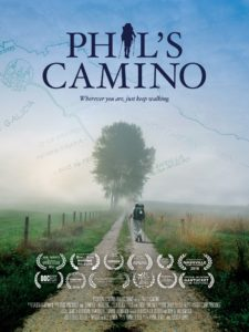 On the road with Phil's Camino.